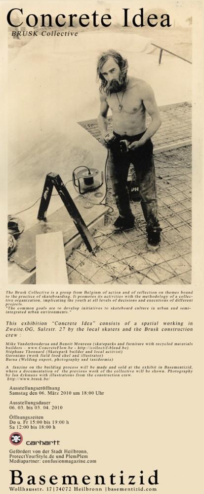 "Brusk Collective, ""Concrete Ideas"""