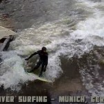 Eisbach River Surfing Germany