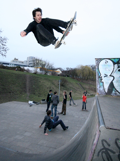 Jan Wermes air to Fakie