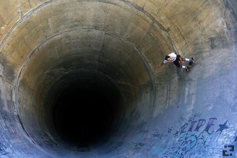 Skate the glory hole