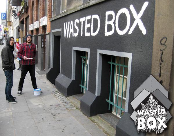 wasted box skate shop
