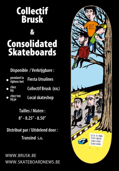 Consolidated / Brusk collab board