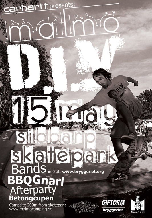 Malmo DIY SIBBARP SKATEPARK - May 15th, 2010