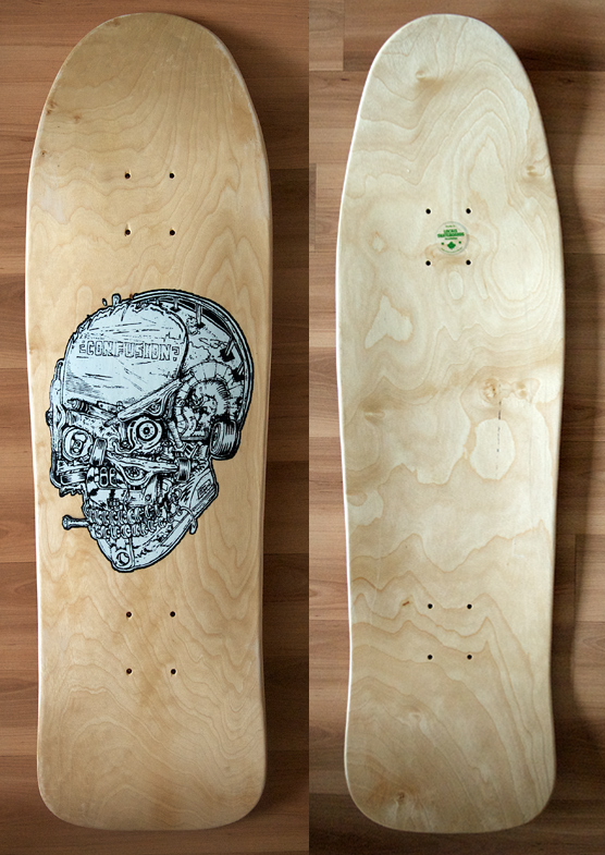 Confusion x Local Skateboards collab deck