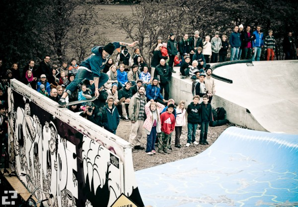 Crail slide. Photo: Martin Palsson