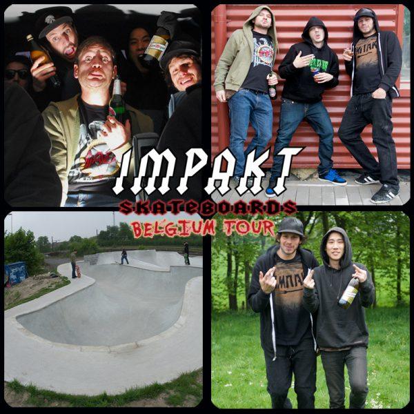 Impakt Skateboards Tour of Belgium