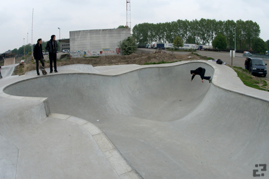 Bowl at Mechelem, Belgium