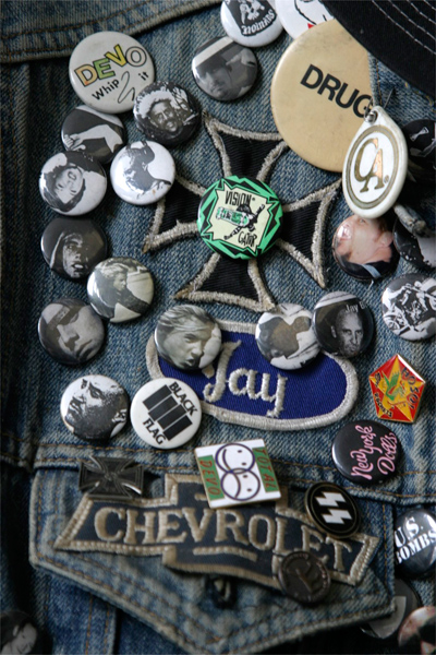 Jay Adams' Jean Jacket (detail)