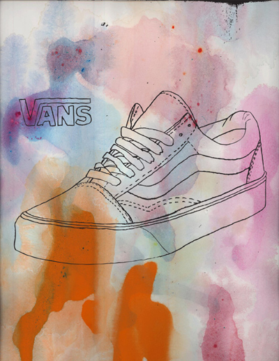 Artwork for Vans Shoes