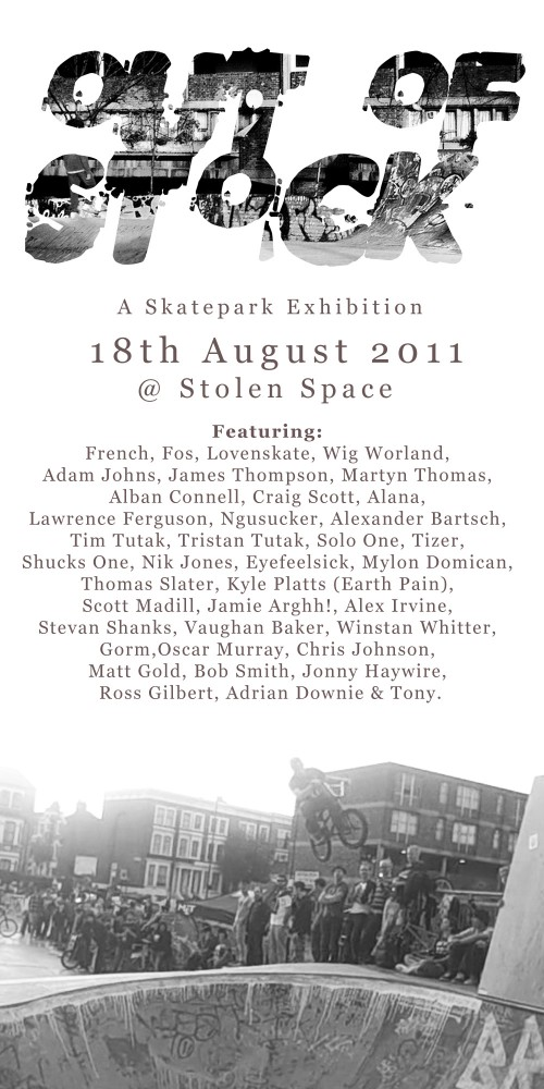 Out of Stock: A Skateboard Exhibition