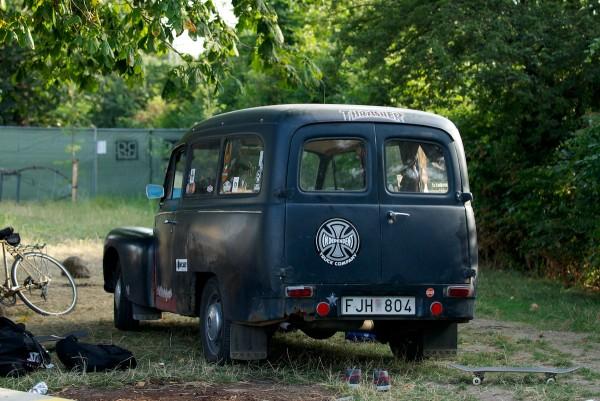 Östlund's Volvo.