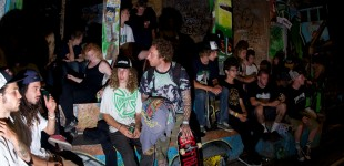 One night in Wonderland.  Skaters from all over the world.  Photo: HⒶ¥wï®e