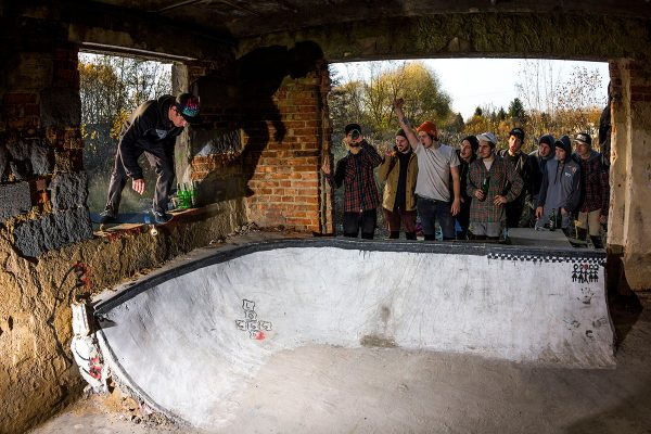 Matyas Volek. Backside feeble.