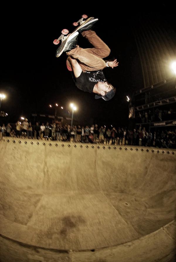 Pedro Barros. Stalefish 540.  Photo: Gonzalo Noriega