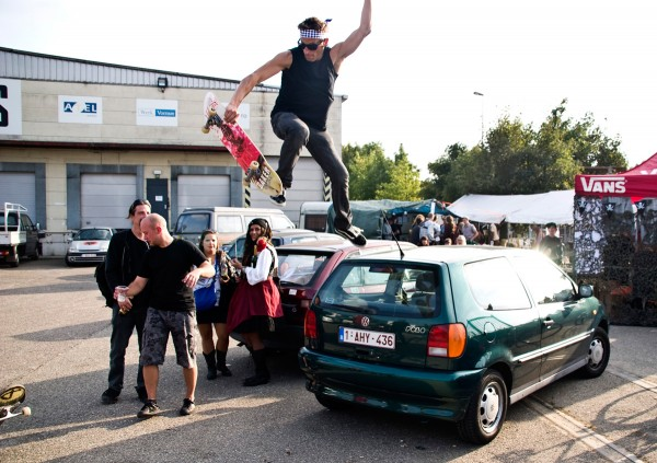Wim (party skater) de Waele