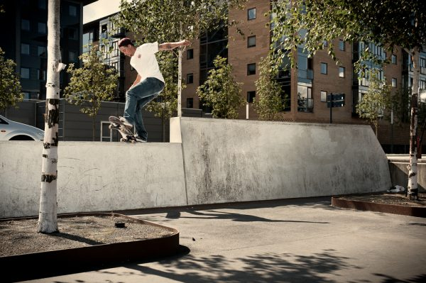 Jordan Hoffart. Nose Slide to Switch 5.