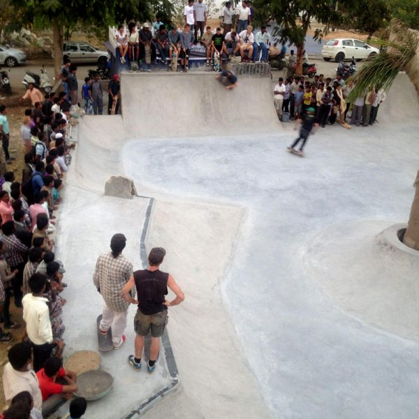 Epic skate party - Bangalore, India