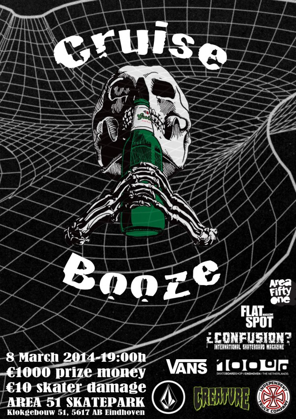 Booze and Cruise. March 8th, 2014