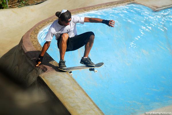 Kaleb Stevens. Laback tailslide. El Mutante. Costa Rica. Photo: Tony Roberts