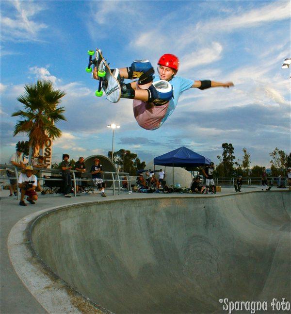 Kalani David, stalefish, Lake Cunningham skate park San Jose