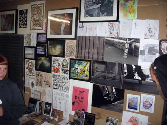 Zines and art expo. Photo gaffled from Boldriders