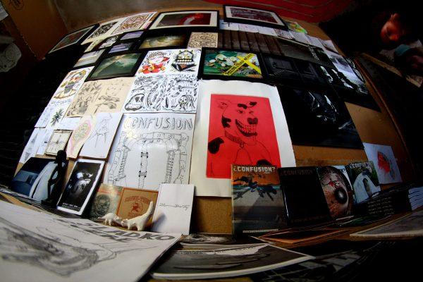 Group art show installation at Pumpa.