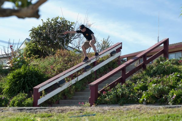 Al. Noseslide.  Photo: Nicky Gaston