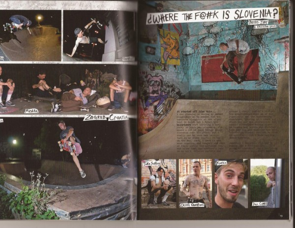 Article on the Balkans from Issue #4 of Confusion Magazine.  Photo: J. Hay