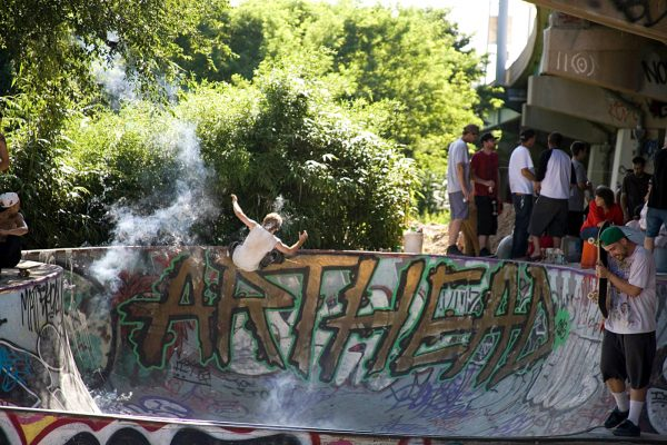 Greg Pachell. Roman Candle grind.  Photo: TCD Photography
