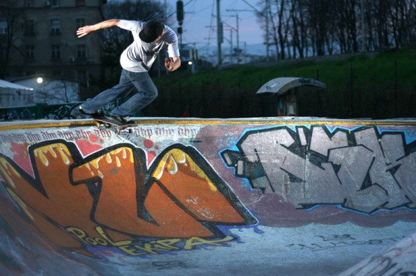 Miro. BS Tailslide. Photo: Kristijan Smok