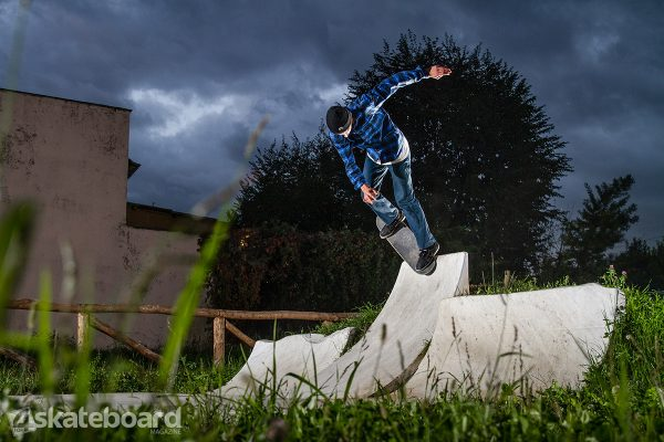 David Del Gaudio. Backside noespick.  Photo: Federico Romanello.