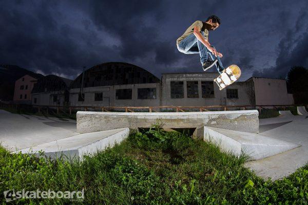 Ilyas Serroukh. Casper flip.  Photo: Federico Romanello