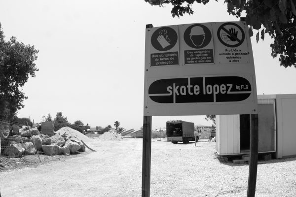 Skate Lopez skate parks (under construction)