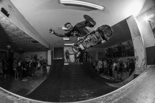Michi Nadler. 360 flip.