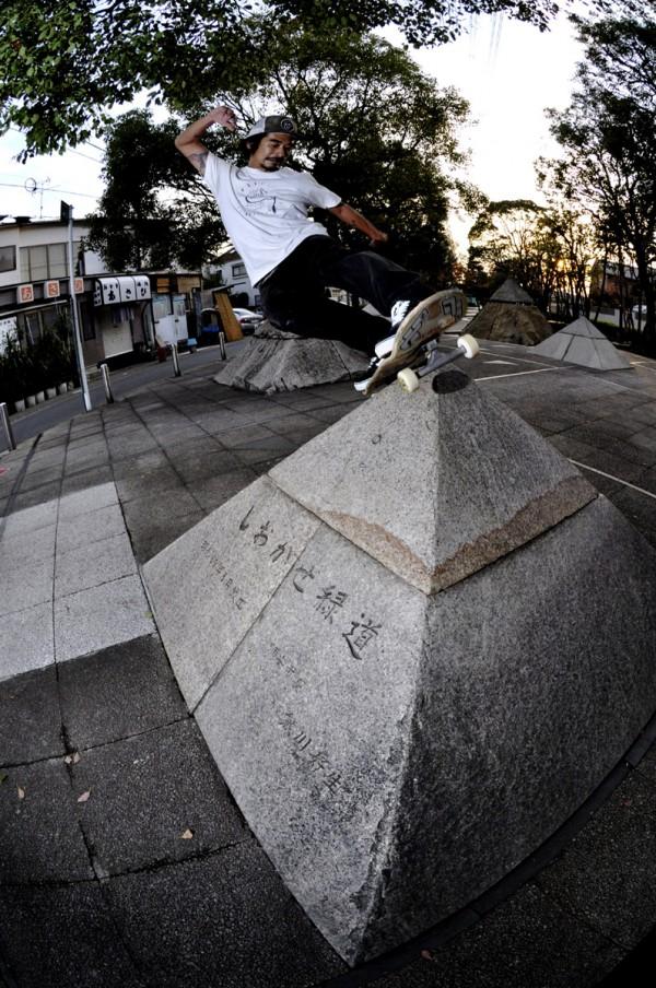 """DAISUKE """"Daicon"""" TANAKA.Tokyo. Front rock. Photo: CANBIN"""