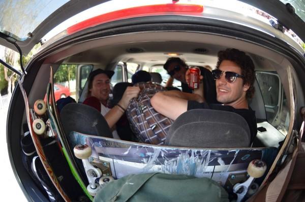 Road trippin' - Aussie style.