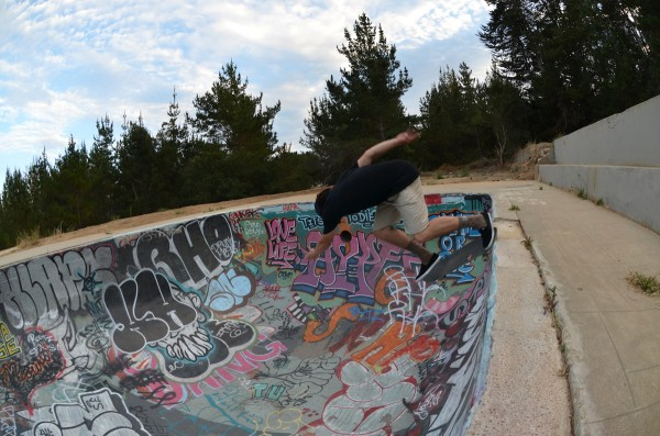 Kieran Rielly. Backtail. Buena Vista Pool.