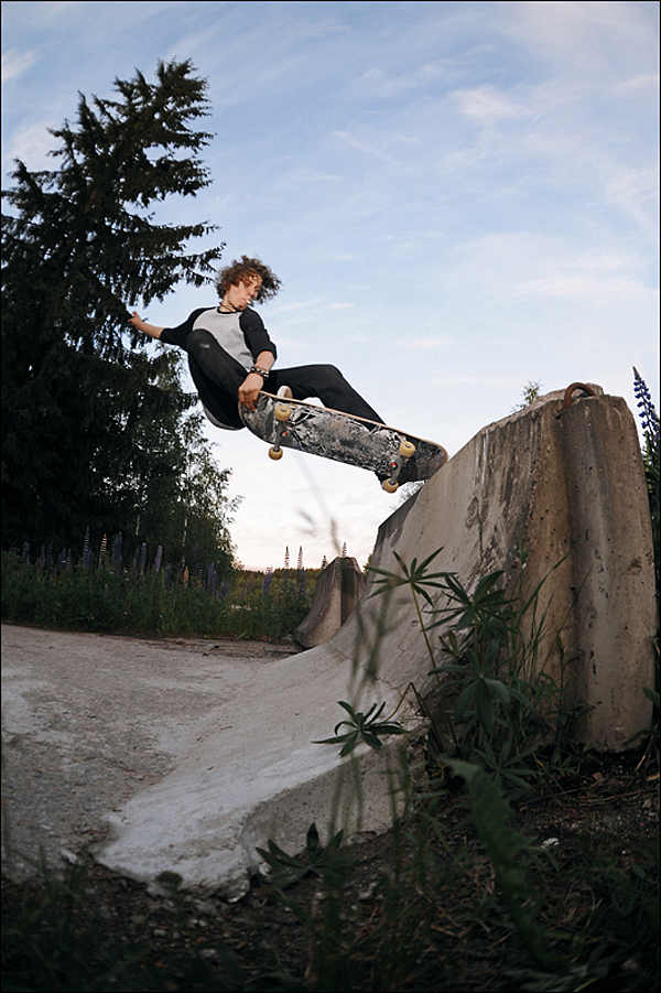 Ville Natunen - Crailslide at Ruoke DIY. (Before the renovation).