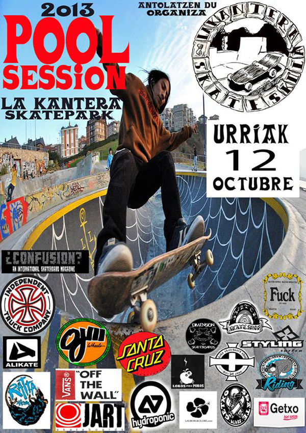 Pool Session Flyer. October 12th, 2013