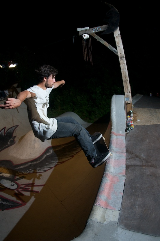 Frontside grind maybe to revert.