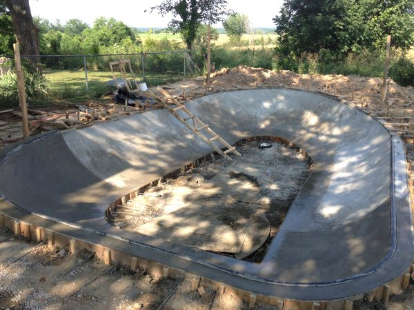 Small backyard bowl Soup, me and Team Pain guys helped build in Columbia, Missouri at the owner of Parkside Skateshop's house.