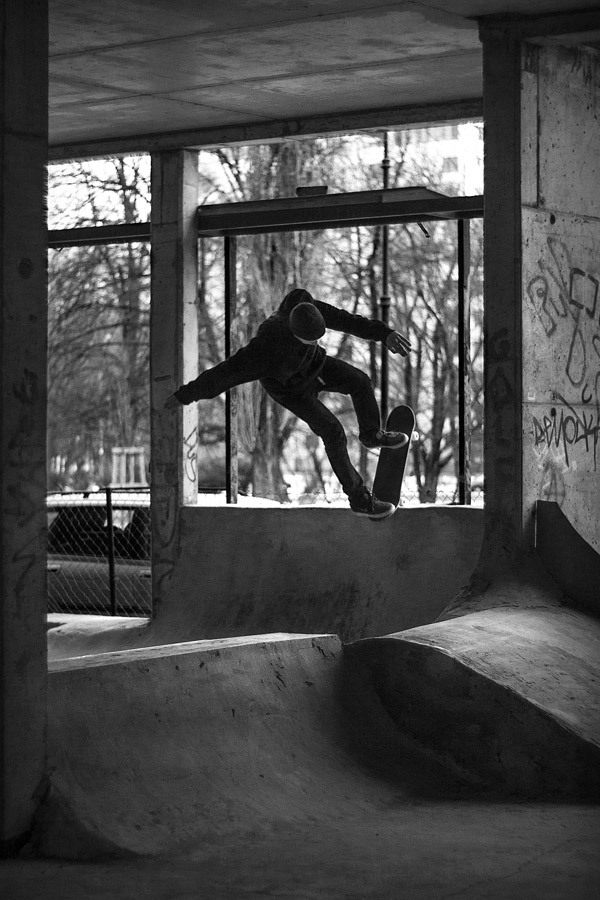 Michal Juras. Backside blunt.  Photo: Piotr Kielb