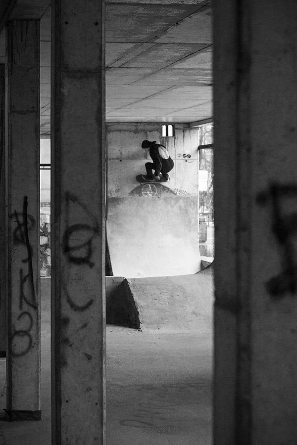 Michał Juraś. FS wallride.  Photo: Piotr Kiełb