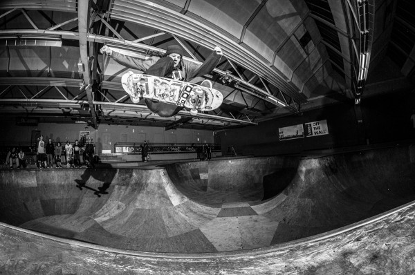 Nick Bax. Ollie over the hip.  Photo: Nicola Debernardi