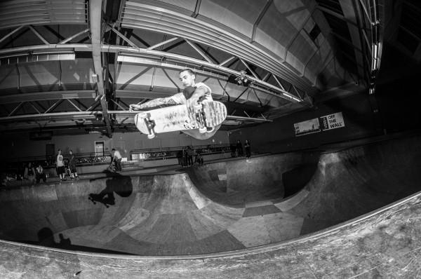 Björn Klotz. Frontside air.  Photo: Nicola Debernardi