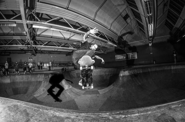 Tobias Springborn. Ollie pop to fakie. Photo: Nicola Debernardi