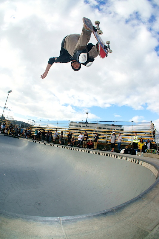 Pedro Barros. Backside orbit air.
