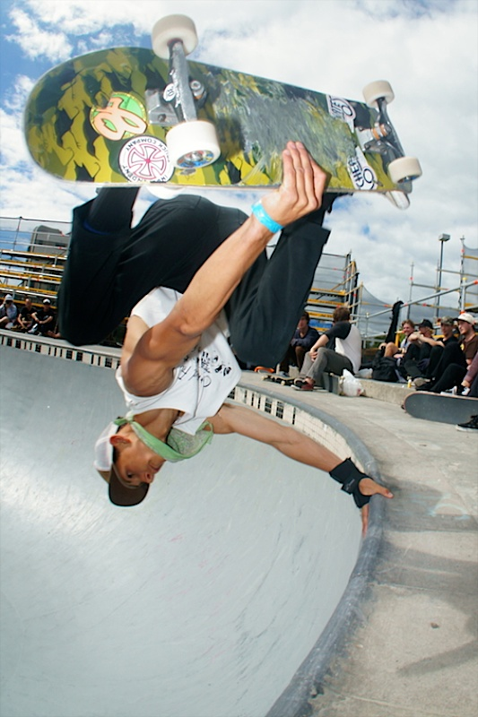 Dan Kelcher. Backside invert.
