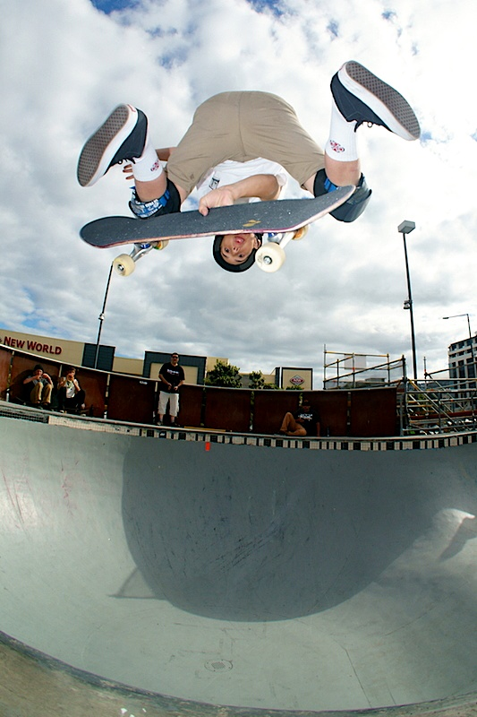 Cory Juneau. Indy Kickflip.