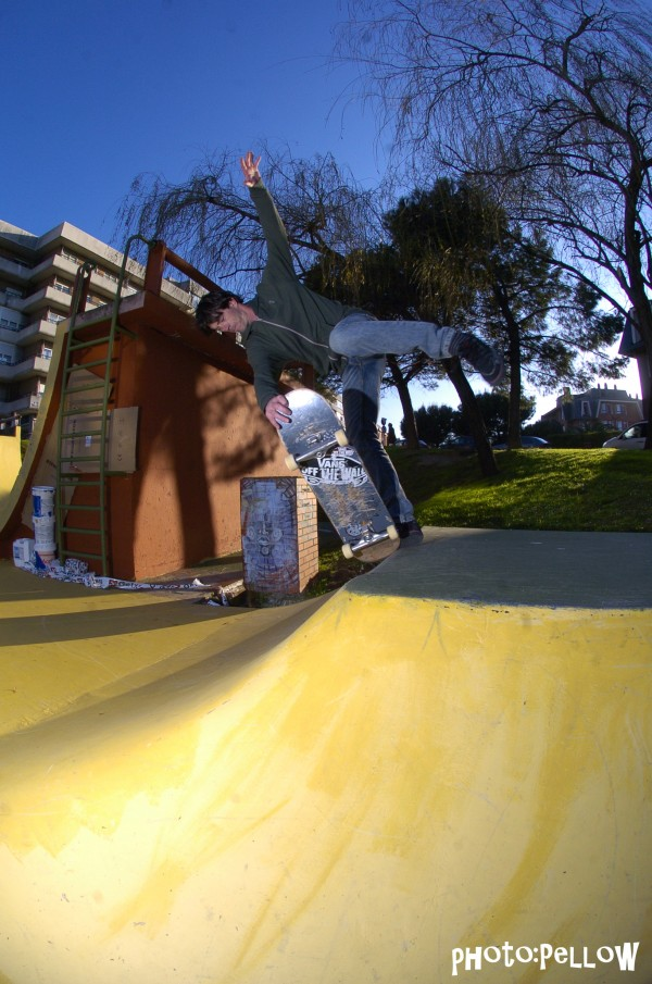 Alex Mosterin. One footed tailblock.